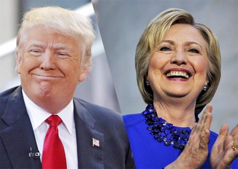 Trump&Clinton