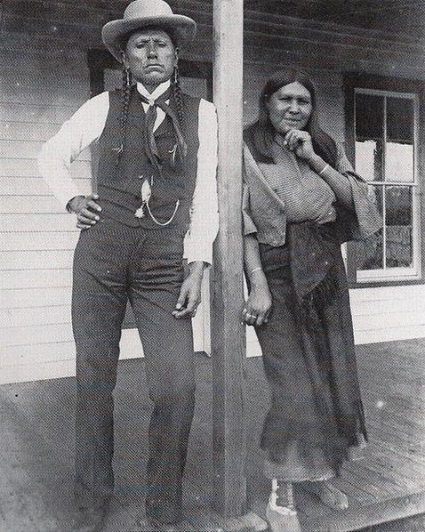 QuanahParker&Wife