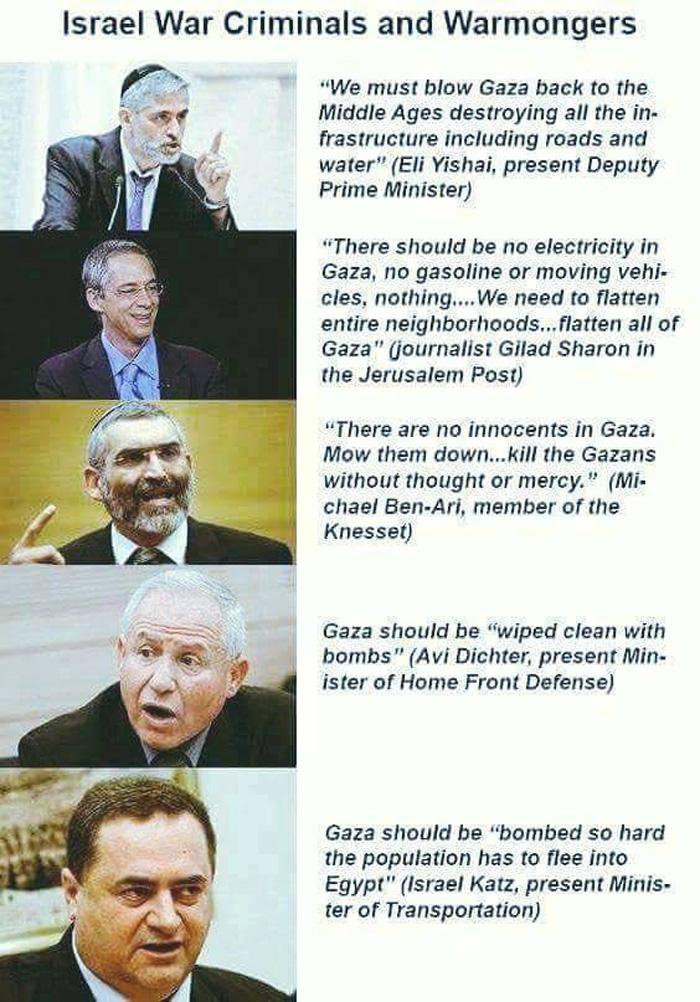 IsraelWarCriminals