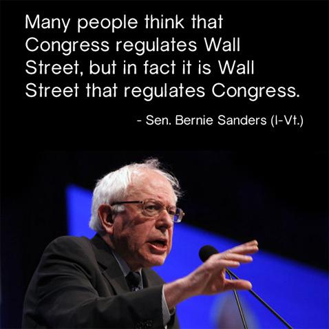 Sanders&WallStreet