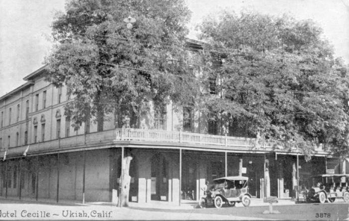 HotelCecilleUkiah1915