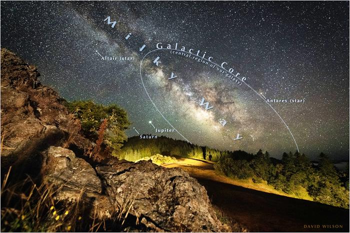 A sky full of wonders. Humboldt County, California. July, 2020.