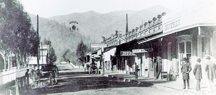 Horses&CarriagesUkiah1880s