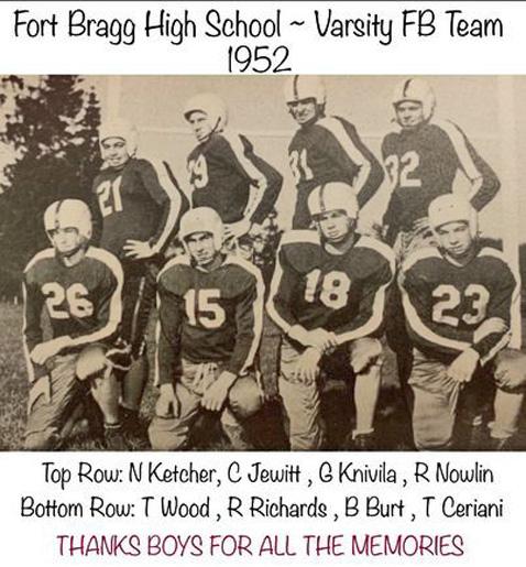 FortBraggFootball1952