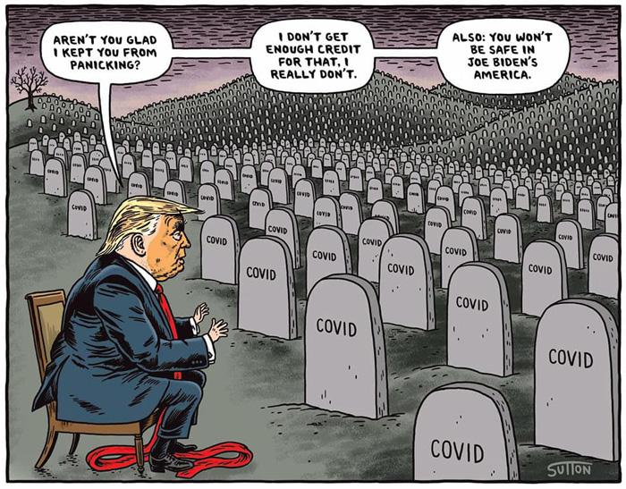 Trump@Cemetery